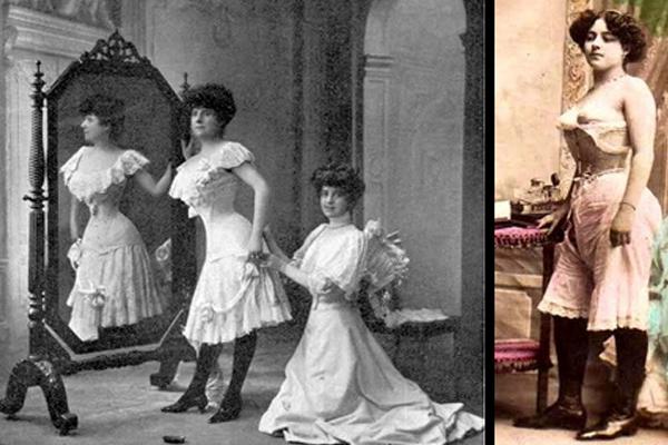 lingerie 20ème siècle